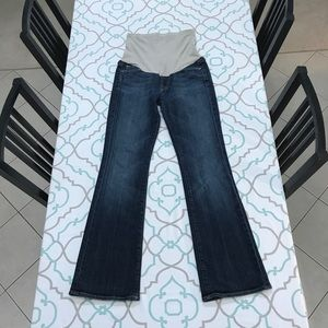 "💙👖CUTE! 7FAM MATERNITY JEANS👖💙27 3/4 31"" DARK!"